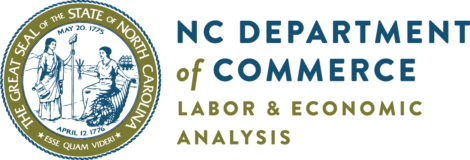 NC Department of commerce logo.