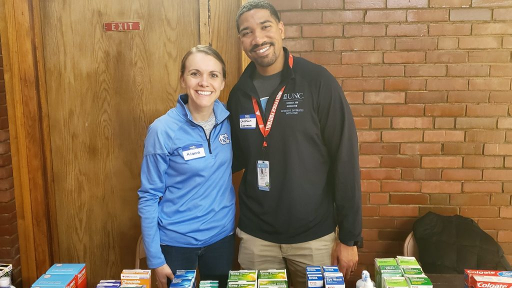 Volunteers from UNC could answer questions about over-the-counter medication